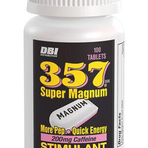 357 Magnum Caffeine Tablets